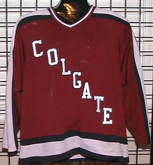 GVJerseys - Game Worn Hockey Jersey Collection - Colgate University b65e6948a2b