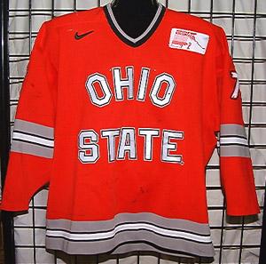 brand new 84148 9a420 GVJerseys - Game Worn Hockey Jersey Collection - Ohio State ...
