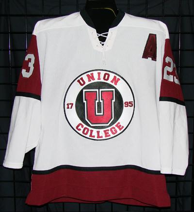GVJerseys - Game Worn Hockey Jersey Collection - Union College 886326a81