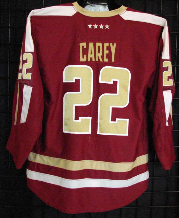 quality design e5e7b e89d5 Paul Carey - Boston College - Game Used/Worn Jerseys - GV ...