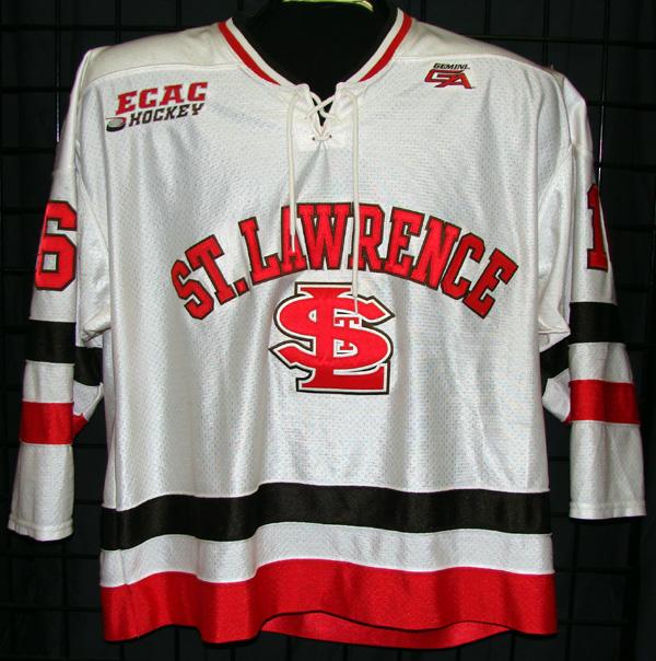 GVJerseys - Game Worn Hockey Jersey Collection - St. Lawrence University b36bba59647
