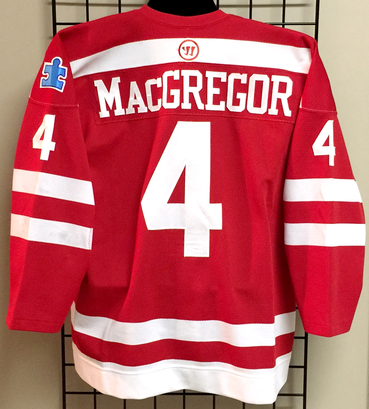 differently 08f7e 5b474 Patrick MacGregor - Boston University - Game Used/Worn ...