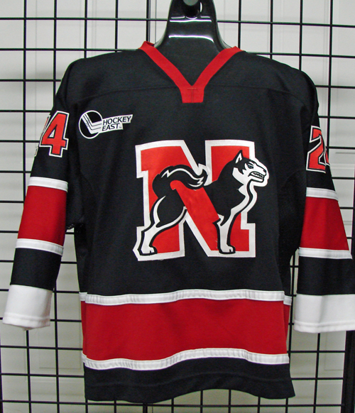 online store 6070a a6f09 Denis Chisholm - Northeastern University - Game Used/Worn ...