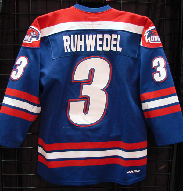 best loved a7522 9d3c2 chad ruhwedel - umass lowell - Game Used/Worn Jerseys - GV ...
