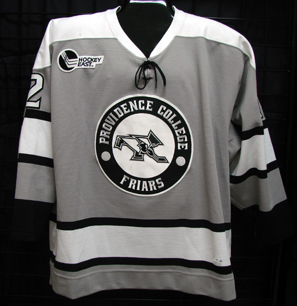 Description  09 10 game worn Providence College hockey jersey for sale or  trade e84c1a30202